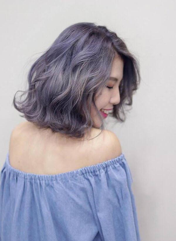 Kiểu tóc đẹp dành cho tóc ngắn ngang vai