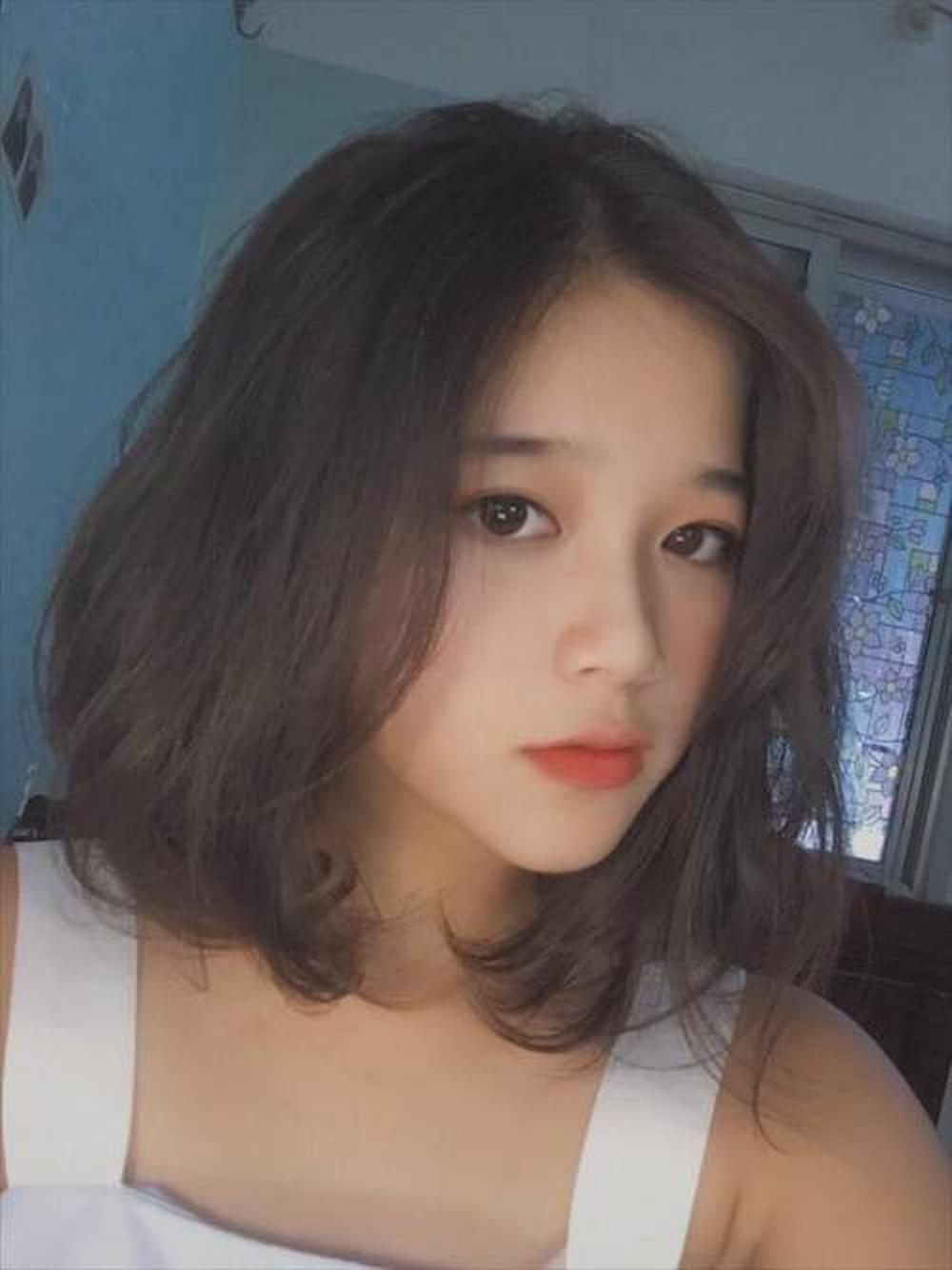 Kiểu tóc ngắn không mái đẹp