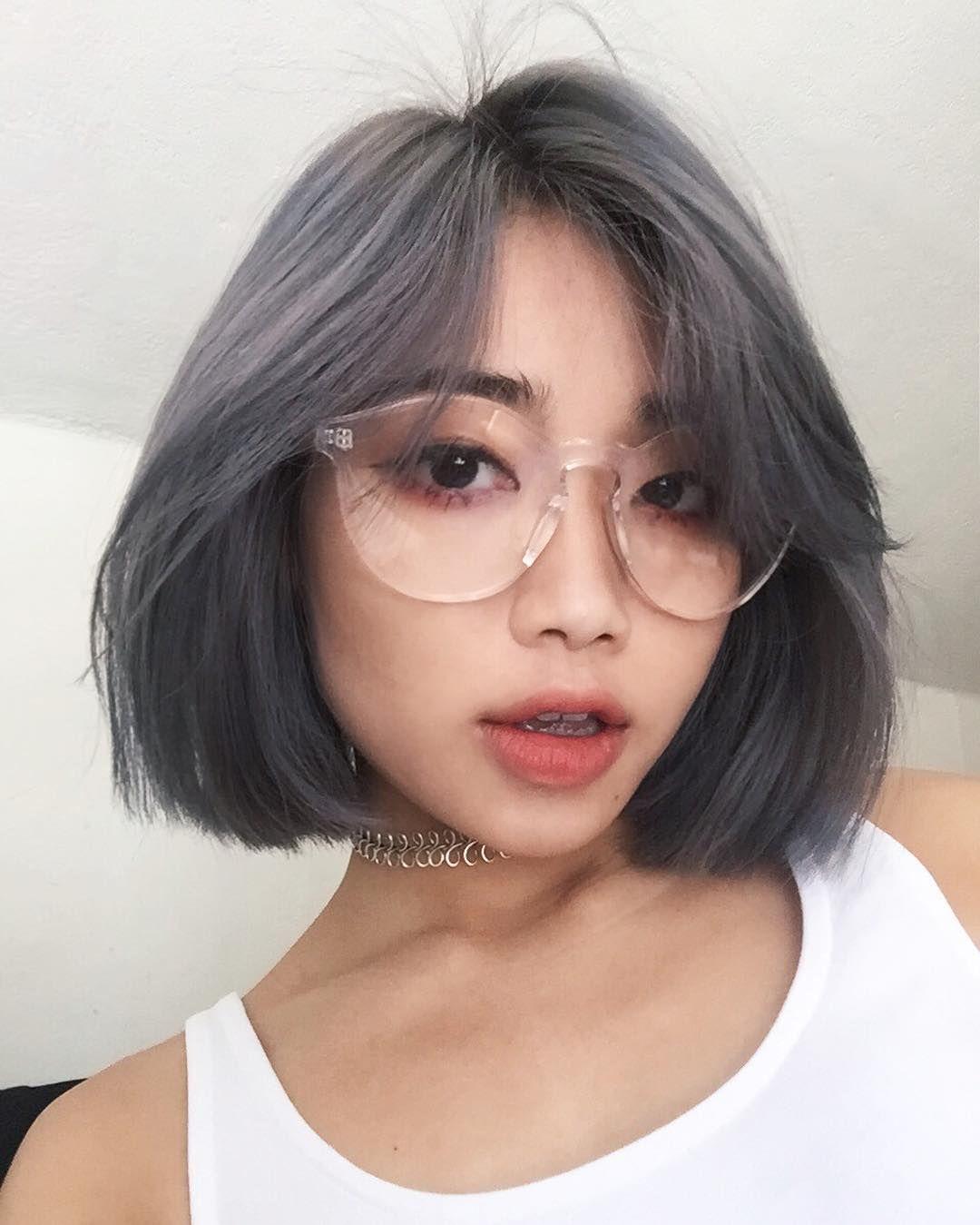 Kiểu tóc ngắn thẳng mượt