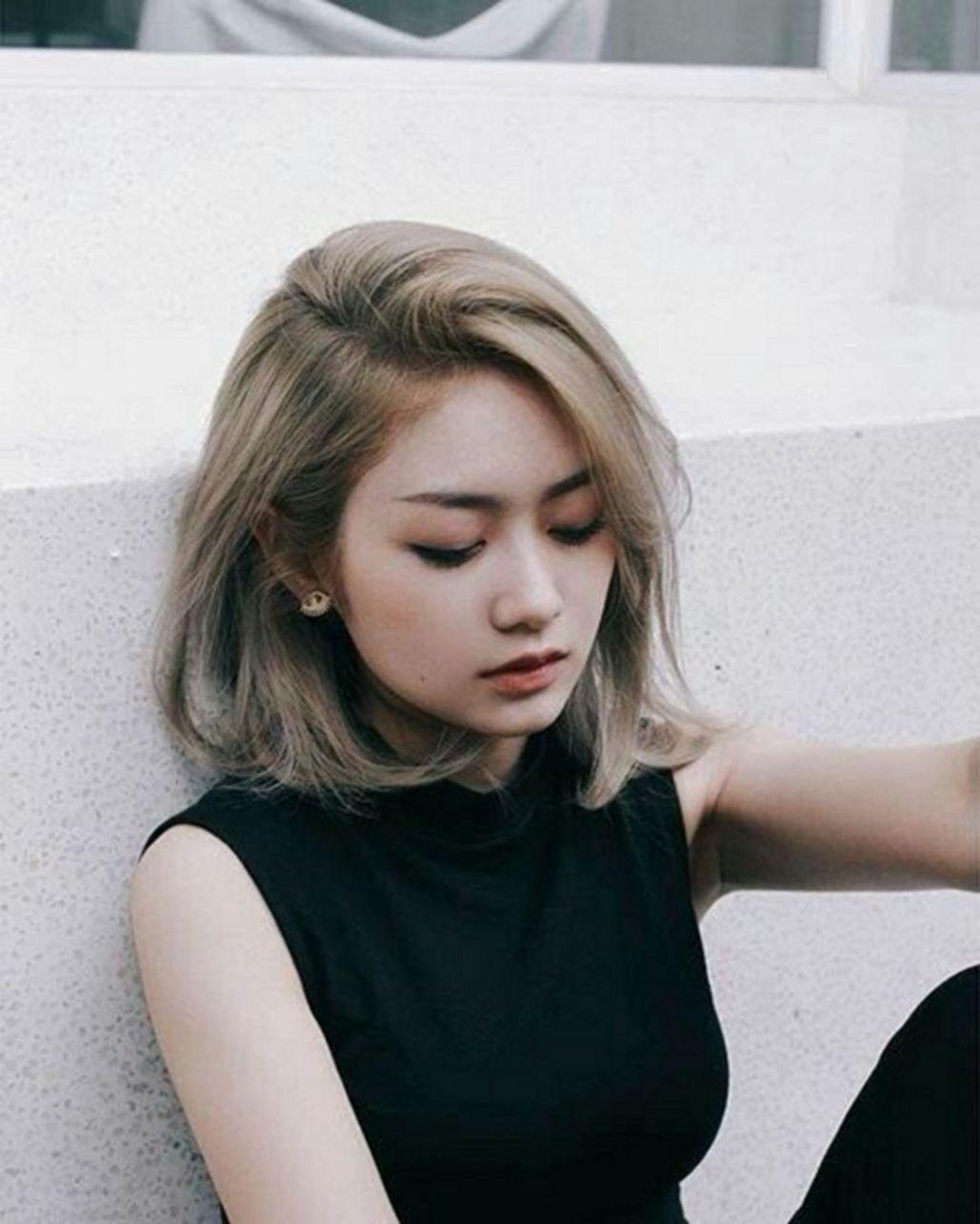 Kiểu tóc ngắn uốn cụp đẹp