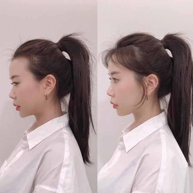 Kiểu búi tóc đuôi ngựa đẹp