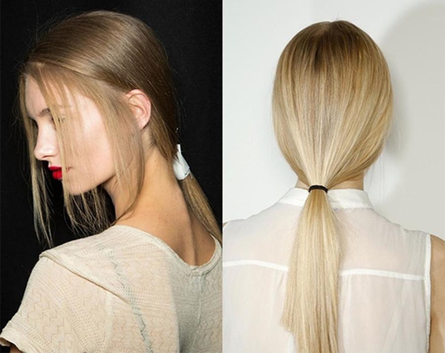 KIểu buộc tóc đẹp cho nàng tóc dài
