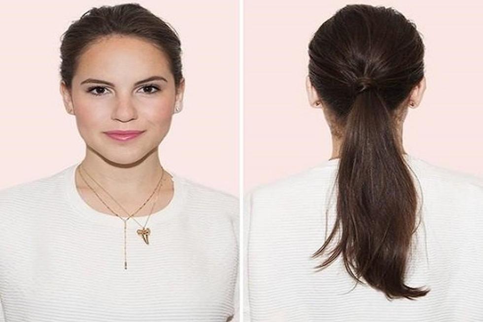 Kiểu buộc tóc đẹp và đơn giản