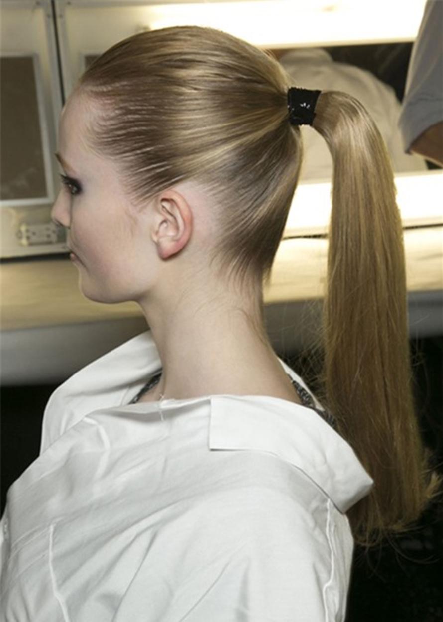 Kiểu buộc tóc đẹp và sang chảnh