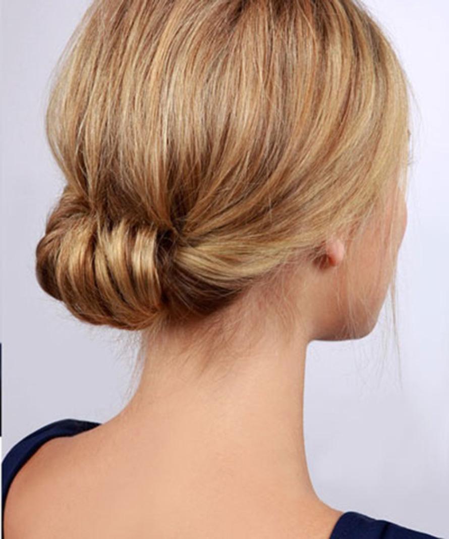 Kiểu buộc tóc đơn giản và sang chảnh nhất