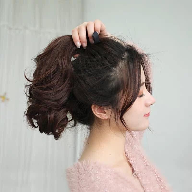 Kiểu buộc tóc đuôi ngựa đẹp