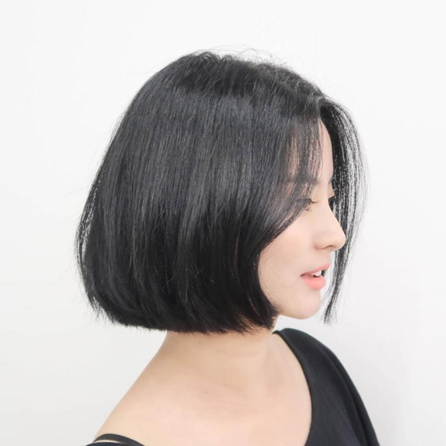Kiểu tóc bob ngắn duỗi thẳng đẹp