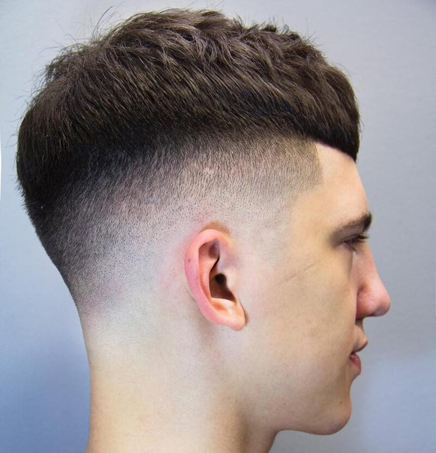 Kiểu tóc đẹp cho học sinh nam mặt dài
