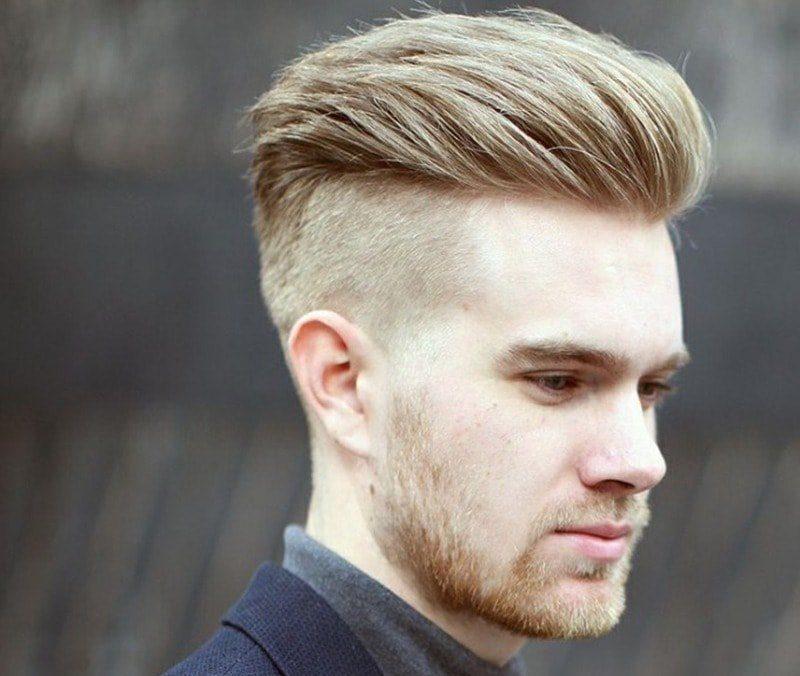 Kiểu tóc đẹp cho học sinh nam mặt vuông