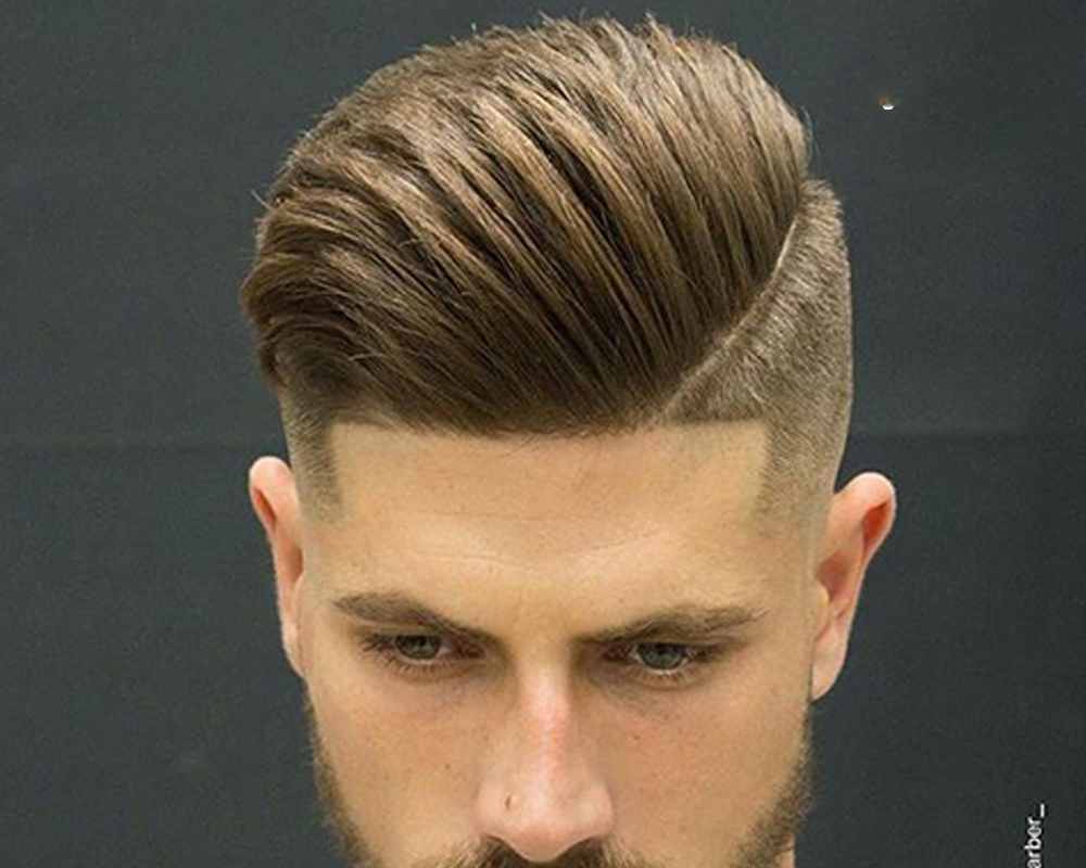 Kiểu tóc đẹp cho nam học sinh mặt vuông
