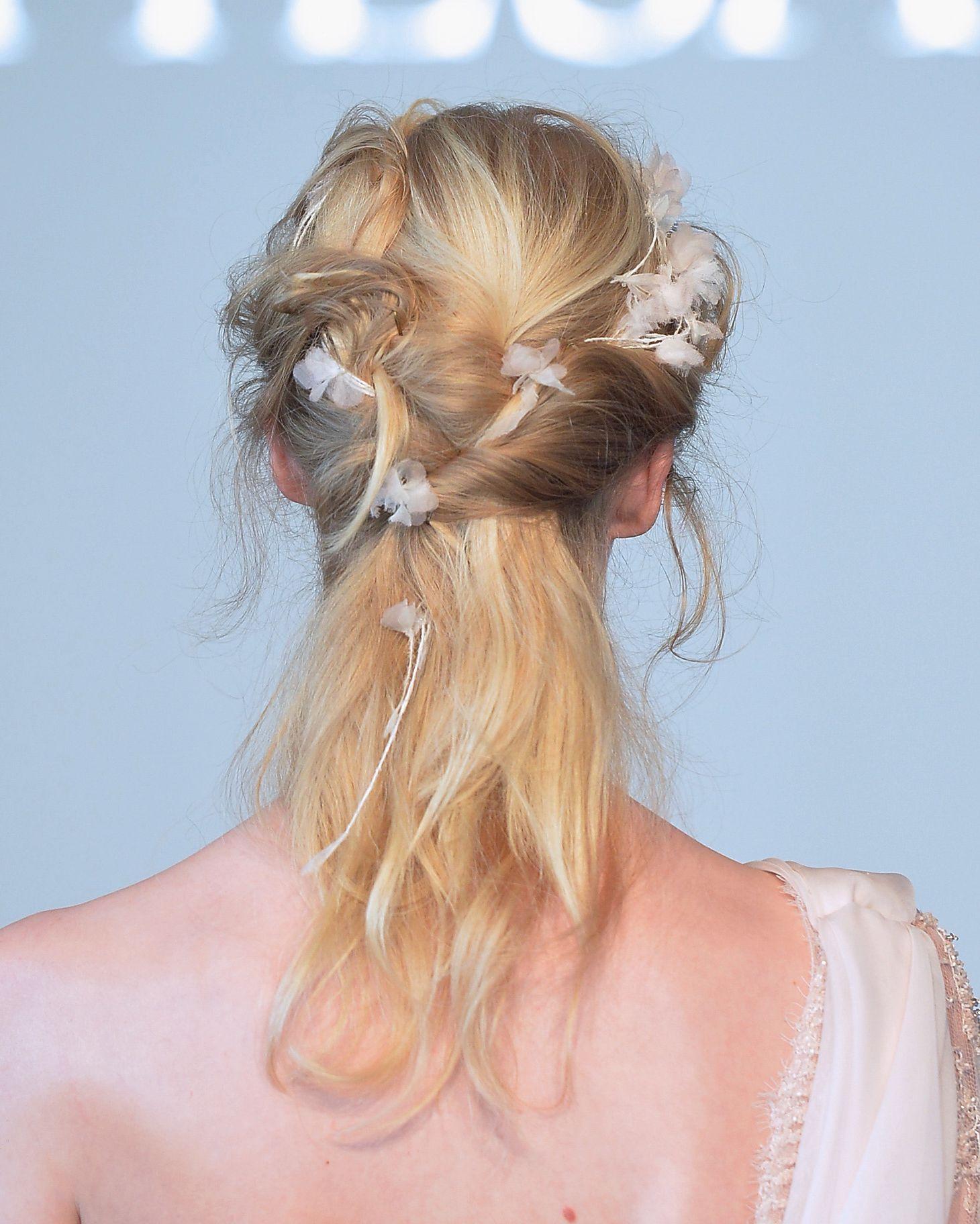 Kiểu tóc dự tiệc cho người tóc ít