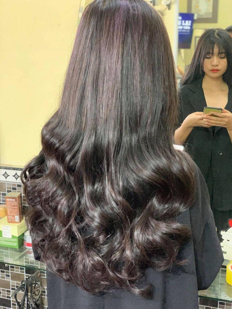 Kiểu tóc móc lai bạch kim đơn giản nhất
