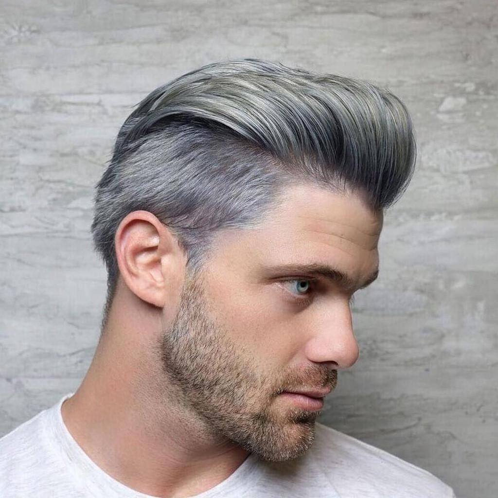 Kiểu tóc móc lai đẹp cho nam