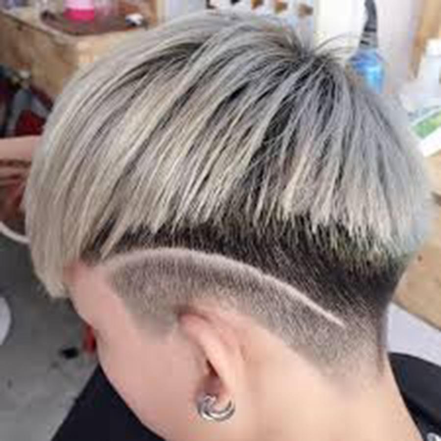 Kiểu tóc móc lai kim tuyến đẹp