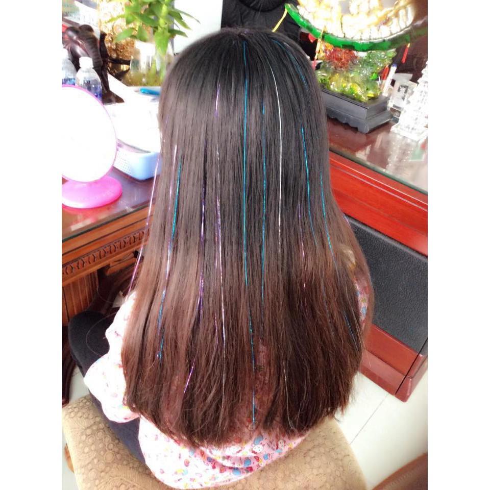 Kiểu tóc móc lai kim tuyến