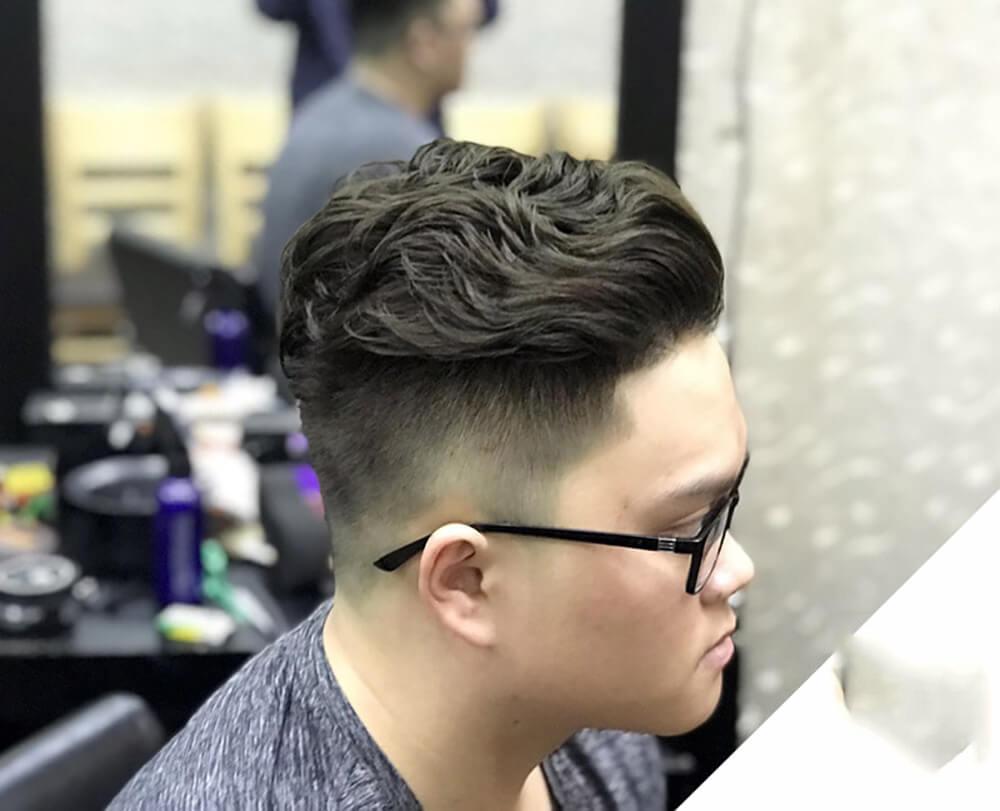 Kiểu tóc móc lai nam đẹp