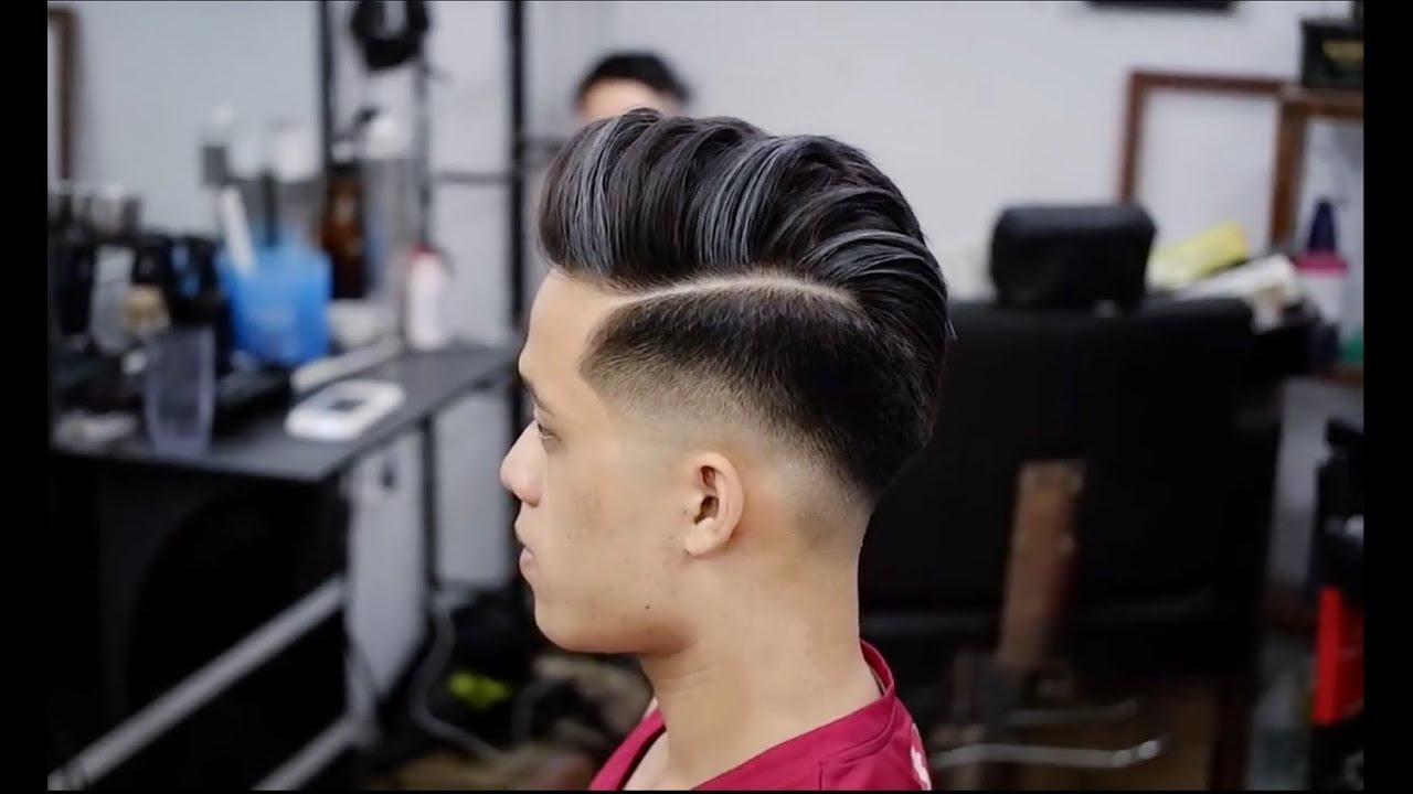 Kiểu tóc móc lai nam