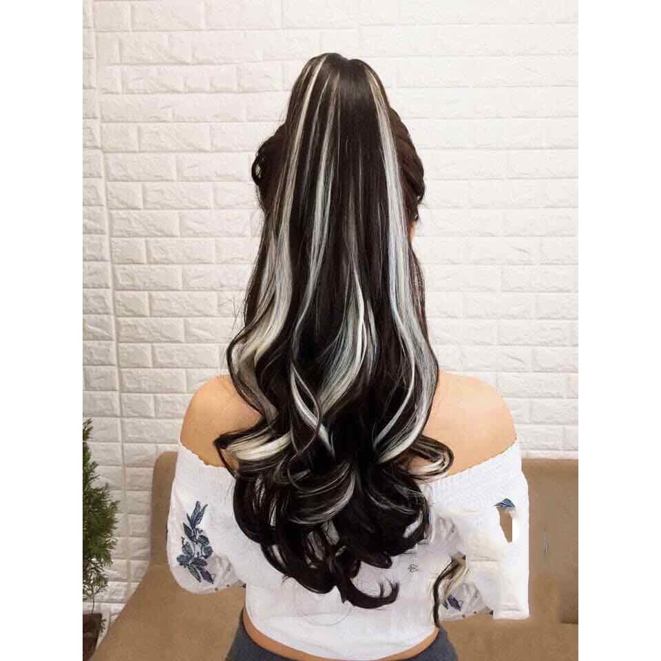 Kiểu tóc móc lai trắng đen đẹp nhất