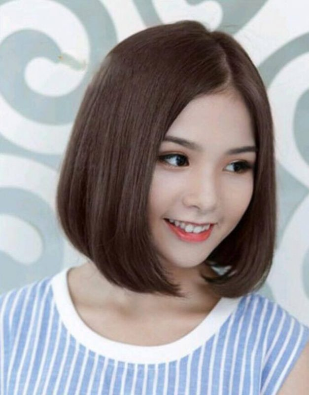 Kiểu tóc ngắn cúp chữ c đẹp