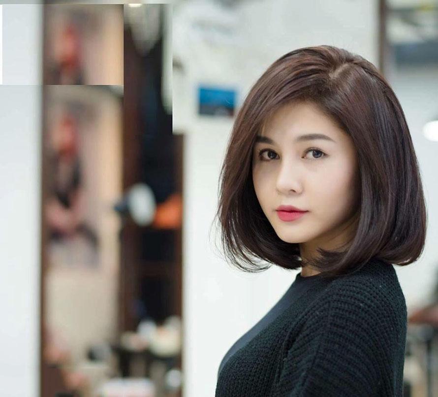 Kiểu tóc ngắn duỗi cúp đẹp nhất cho nữ