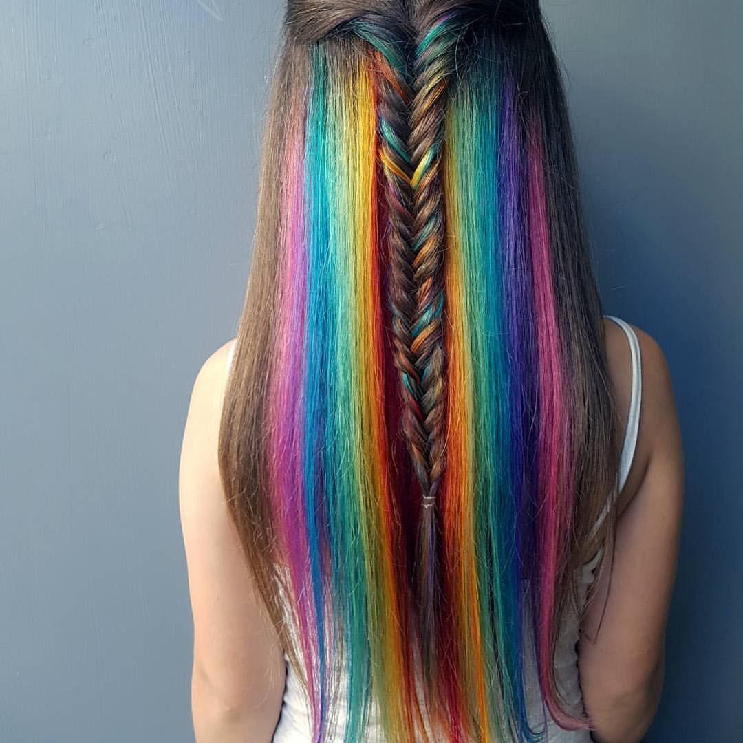 Kiểu tóc nhuộm cho mặt tròn đẹp