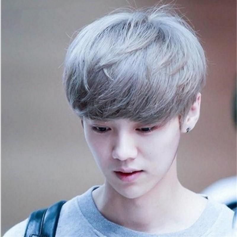 Kiểu tóc nhuộm màu bạch kim