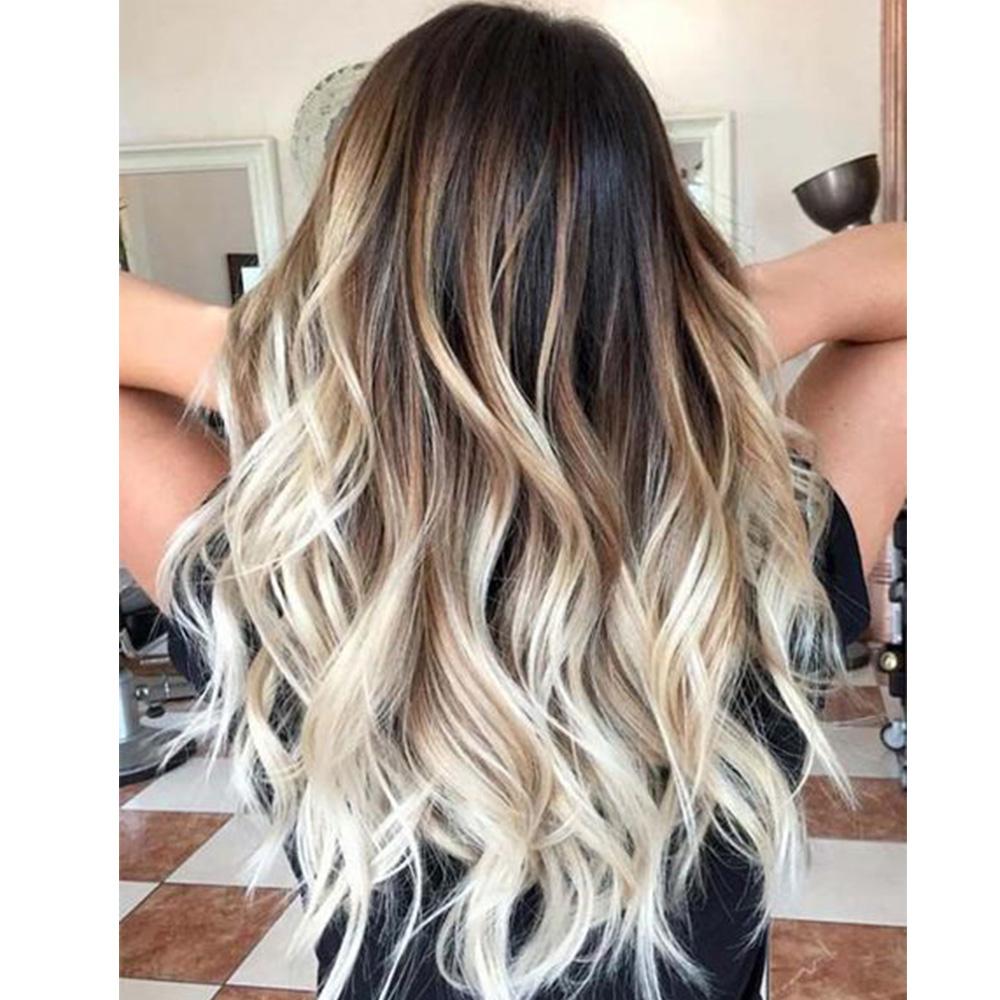 Kiểu tóc nhuộm màu khói