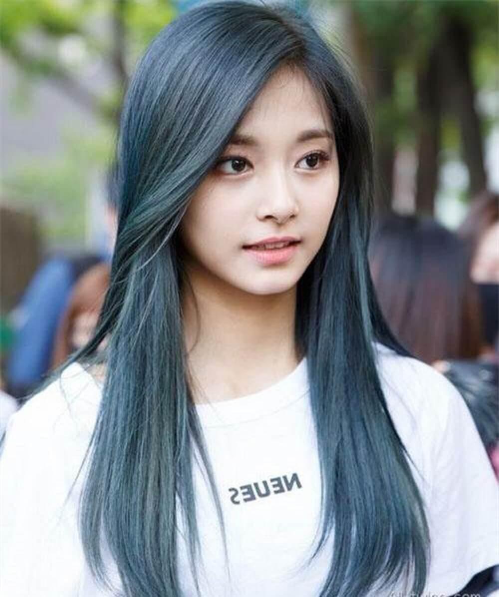 Những kiểu tóc thẳng ngang vai đẹp