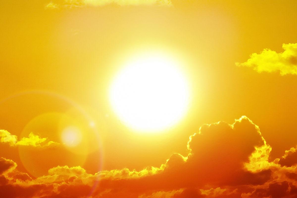 Trời nắng hình ảnh đẹp nhất