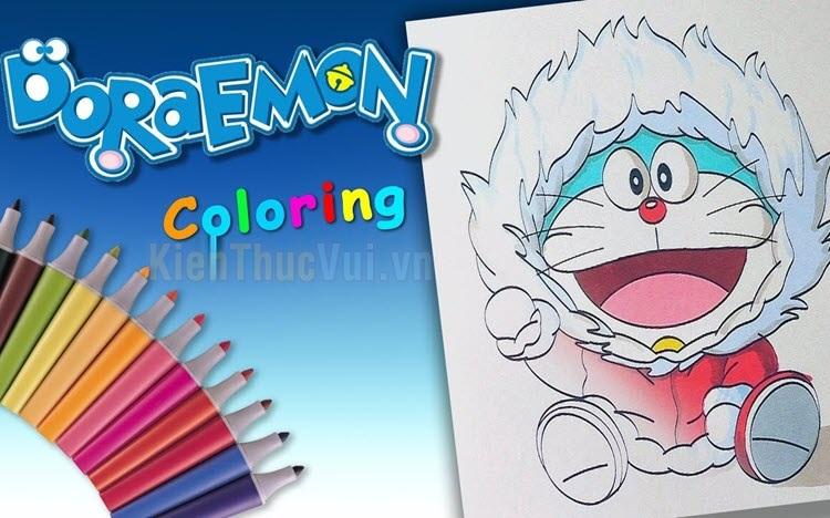 Tranh tô màu Doremon