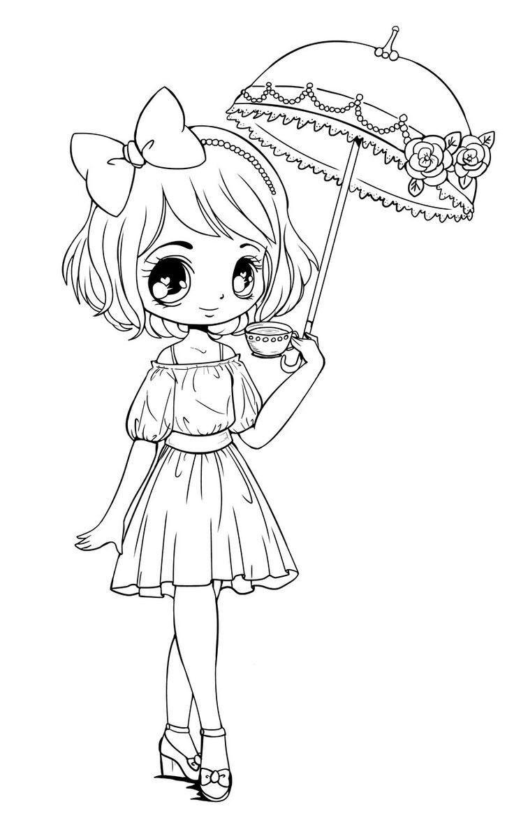 Tranh tô màu anime cho các bạn nhỏ đẹp nhất