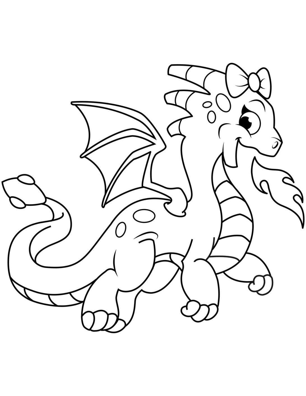 Tranh tô màu con rồng đẹp, hấp dẫn nhất