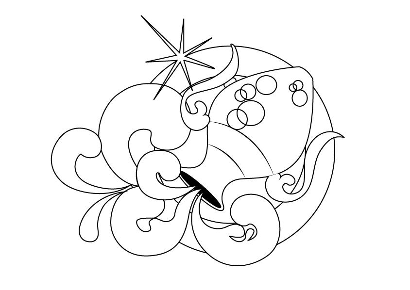Tranh tô màu cung Thủy Bình