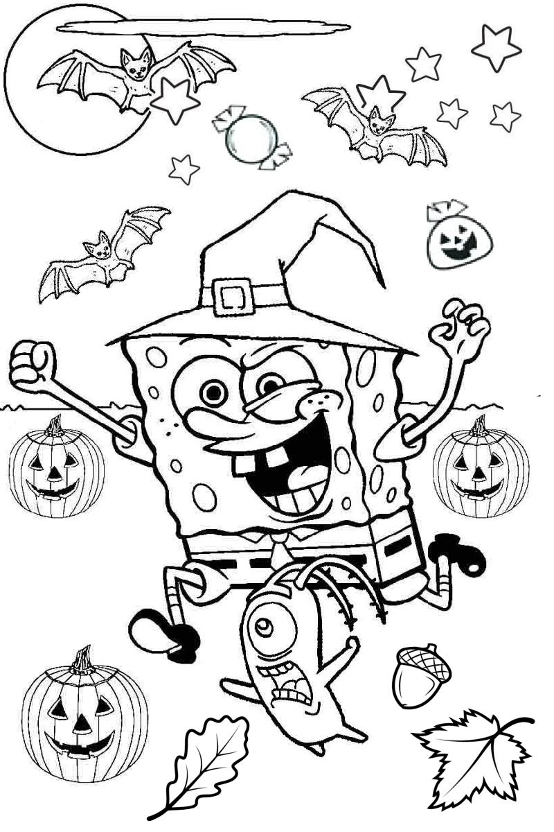 Tranh tô màu Halloween rùng rợn, đáng sợ