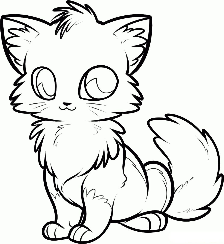 Tranh tô màu con cáo hoạt hình đẹp nhất
