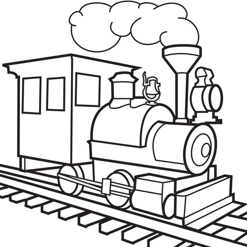 Hình tập tô đầu kéo xe lửa