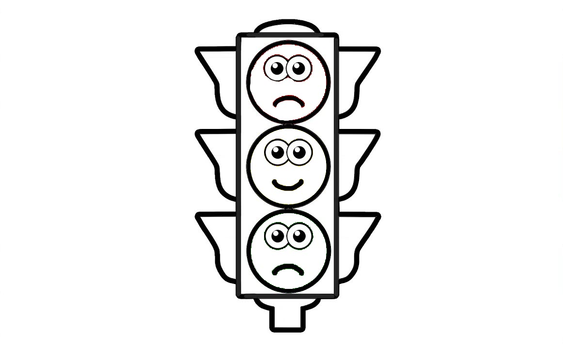 Traffic Light Coloring Pages