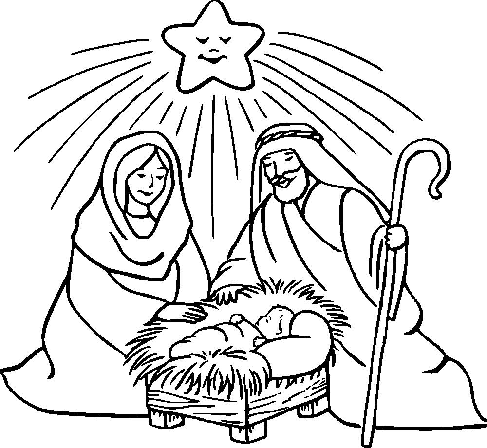 Tranh tô màu lễ giáng sinh