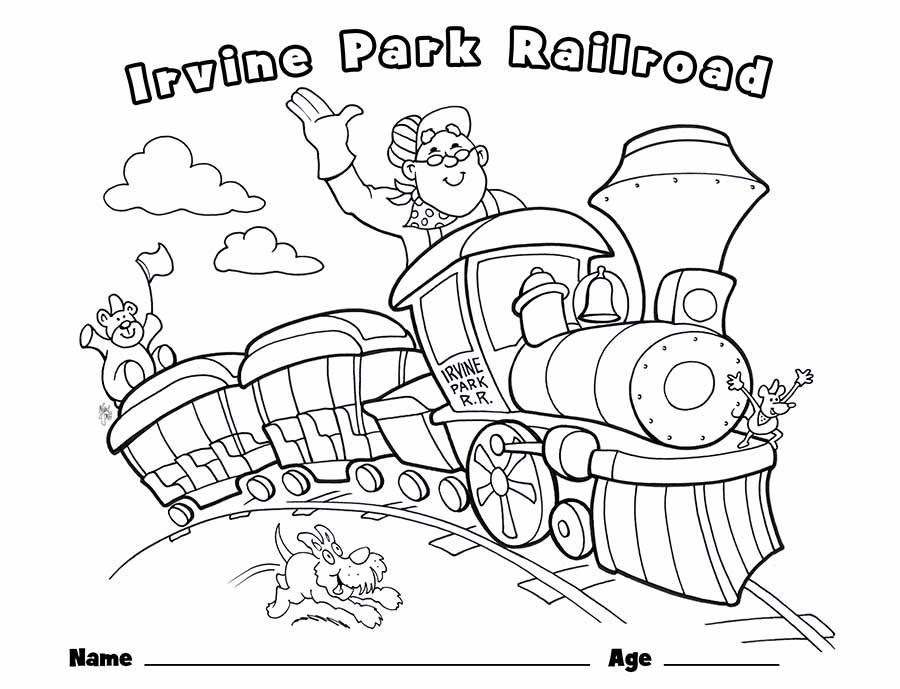 Tranh tô màu xe lửa hấp dẫn nhất
